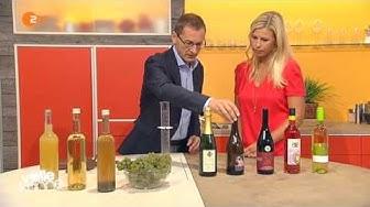 Vegane Weine und Weinzusätze - Sendung Volle Kanne