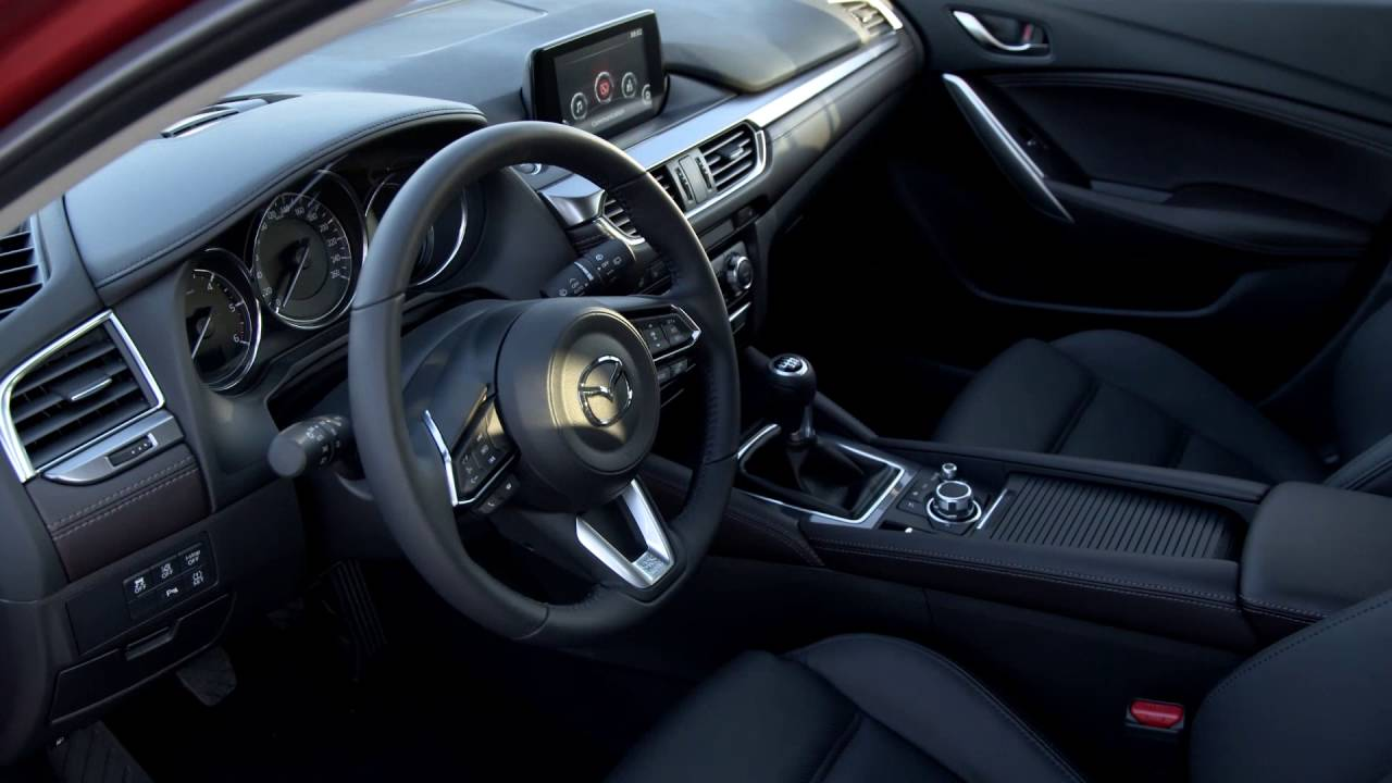 2017 Mazda 6 Sedan Wagon Interior Design Automototv Youtube