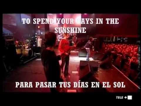 cigarettes and alcohol - oasis ( subtitulado english y español )