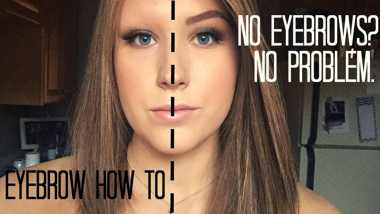 How To Fill In Eyebrows When You Have No Hair Alopecia Version