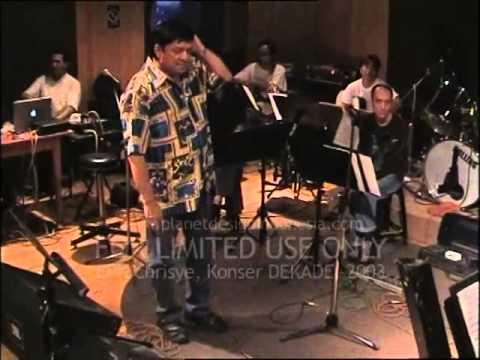 Epk CHRISYE KONSER DEKADE 2003 pengalaman pertama A. RAFIQ | Chrisye | planet design Indonesia