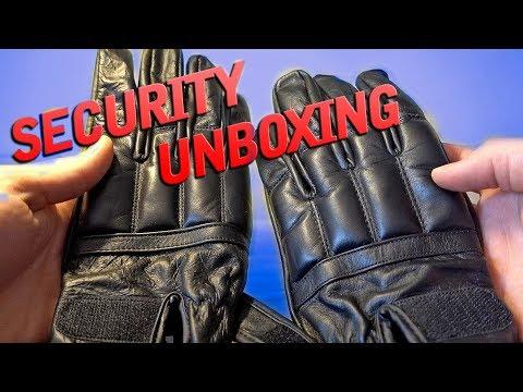 SECURITY UNBOXING - HANDSCHUHE UND HANDSCHELLEN