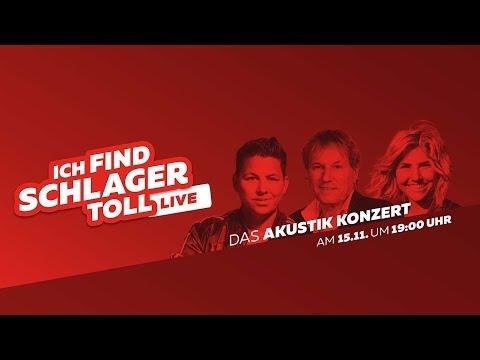 ICH FIND SCHLAGER TOLL - Live - Das Akustik-Konzert Mit Kerstin Ott, Beatrice Egli & Bernhard Brink