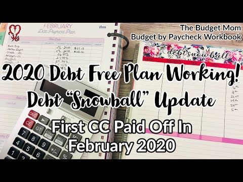2020 DEBT TOTALS February First CC Paid Off Paying Over $40K In Credit Card Debt Free December 2021