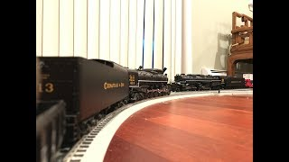 MTH O Scale Premier C&O 4-8-4 J-3a Greenbrier #613 Steam Locomotive Protosound 2.0 (6/20/19)