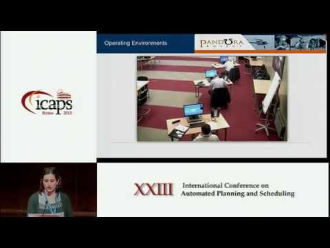 ICAPS 2013: Gabriella Cortellessa, Riccardo De Benedictis - Timeline Based Planning for Engaging Tra