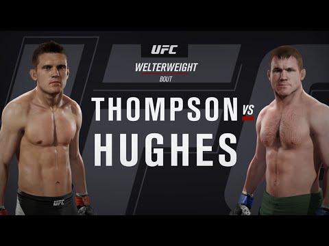 "UFC 2: online ranked match - Stephen ""Wonderboy"" Thompson v Matt Hughes (me)"
