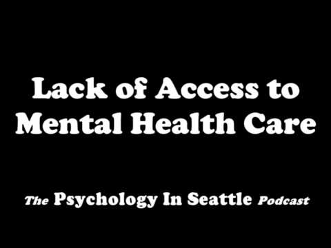Lack of Access to Mental Health Care