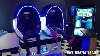Trap Factory VR Balázzsal és Majkával
