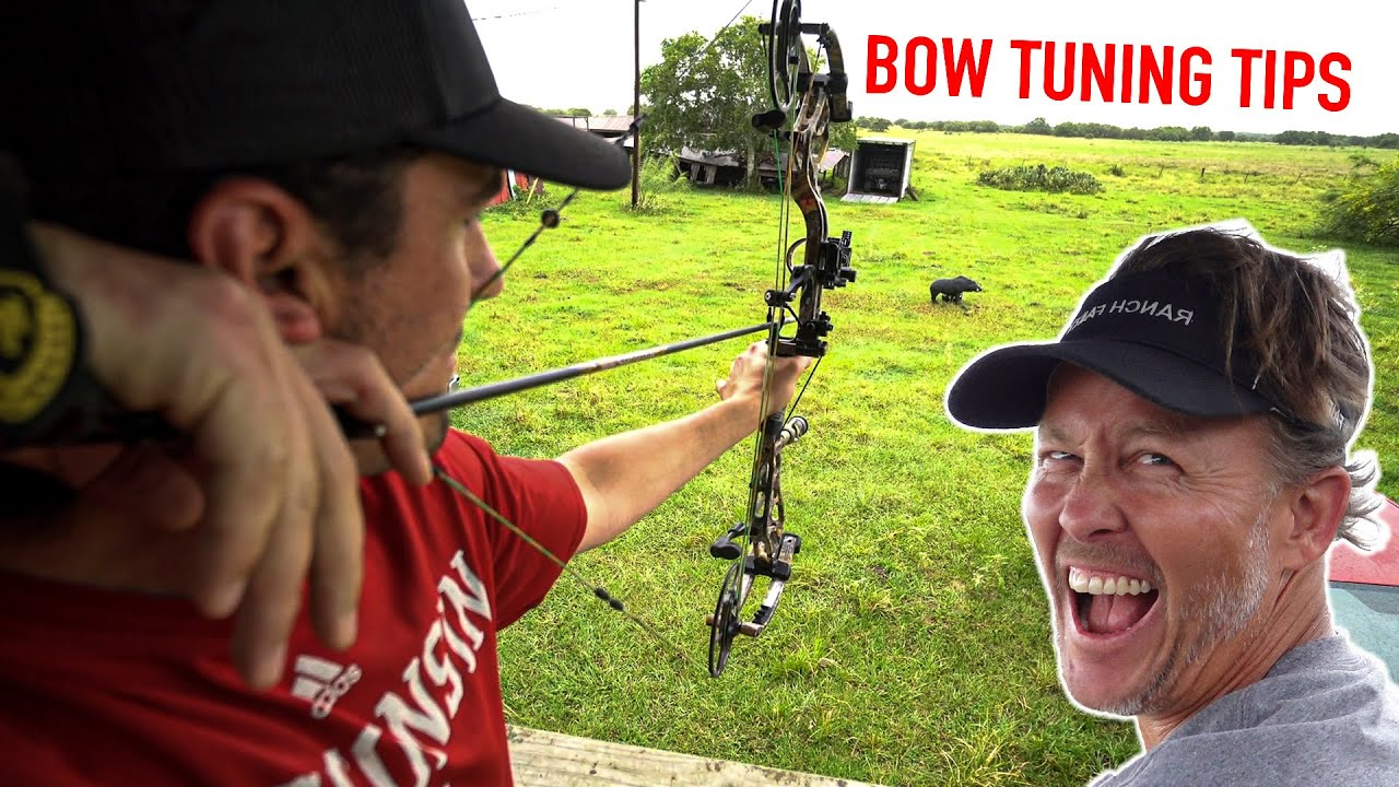 DIY BOW TUNING with RANCH FAIRY!