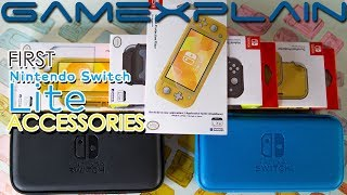 Switch Lite Accessories First Look and UNBOXING! Hori's Full Launch Lineup Revealed!