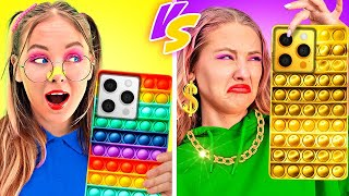 RICH STUDENT VS BROKE STUDENT || Awesome Situations And Funny Situations By Challenge Accepted