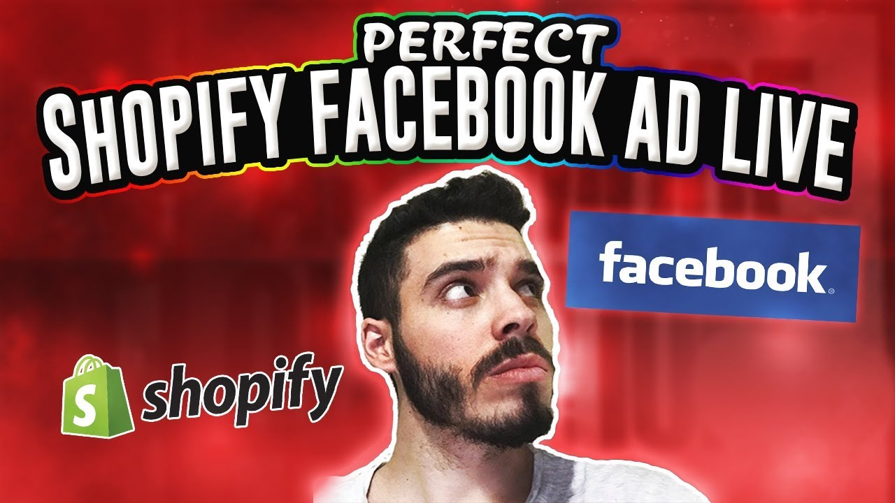 The PERFECT Shopify Facebook Ad LIVE