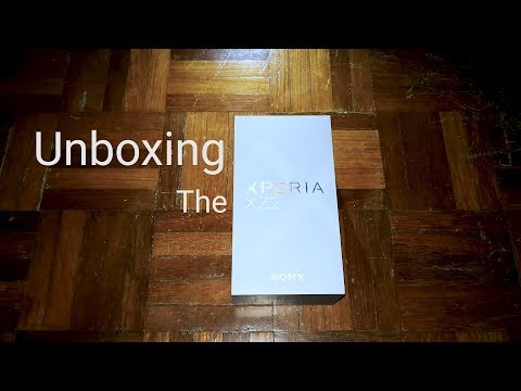 Sony XPeria XZ2 Liquid Silver Unboxing and First Impression | techENT