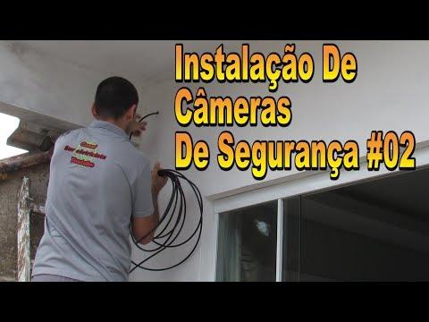 Instalação de Câmeras  CFTV#02