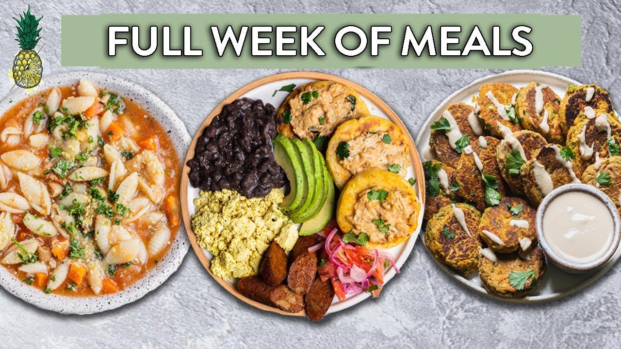 What 2 Vegans Eat in a Week (Realistic)