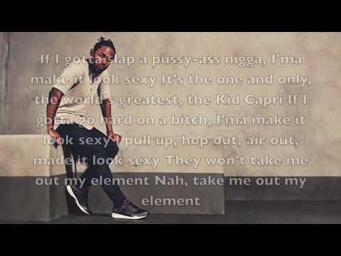 Kendrick Lamar - ELEMENT. Lyrics