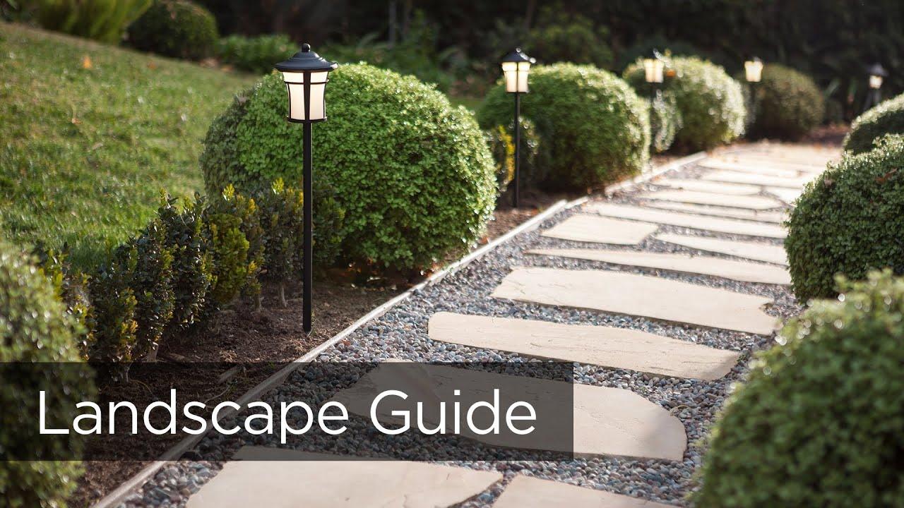 designing a landscape lighting system