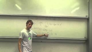 Matematik B - Eksamensopgaver: Sommer 2012 re delopgave 2: Funktioner af flere variable