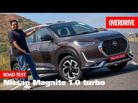 Nissan Magnite 1.0 turbo road test review | OVERDRIVE