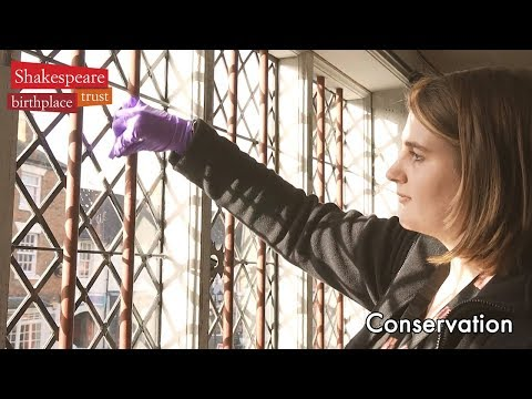 Conservation at the Shakespeare Birthplace Trust
