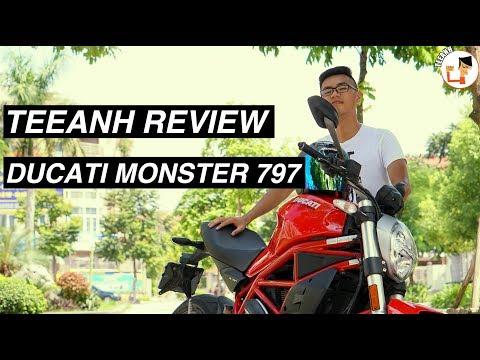 [TEEANH REVIEW #24] DUCATI MONSTER 797