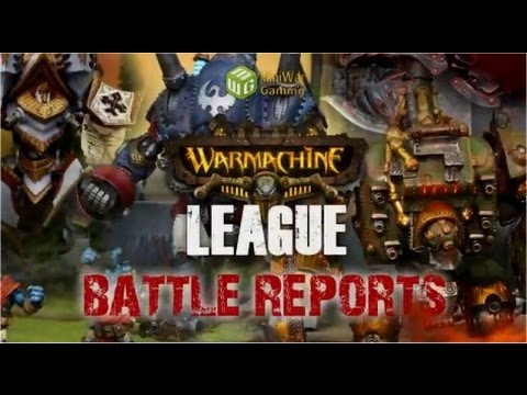 Convergence Vs Cygnar Warmachine Battle Report - Warmachine League Season 3 Ep 25