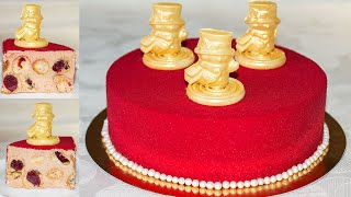 ТОРТ на НОВЫЙ ГОД 2019 🎄 Праздничный Торт 🍰 с Профитролями и Муссом на Молочном Шоколаде