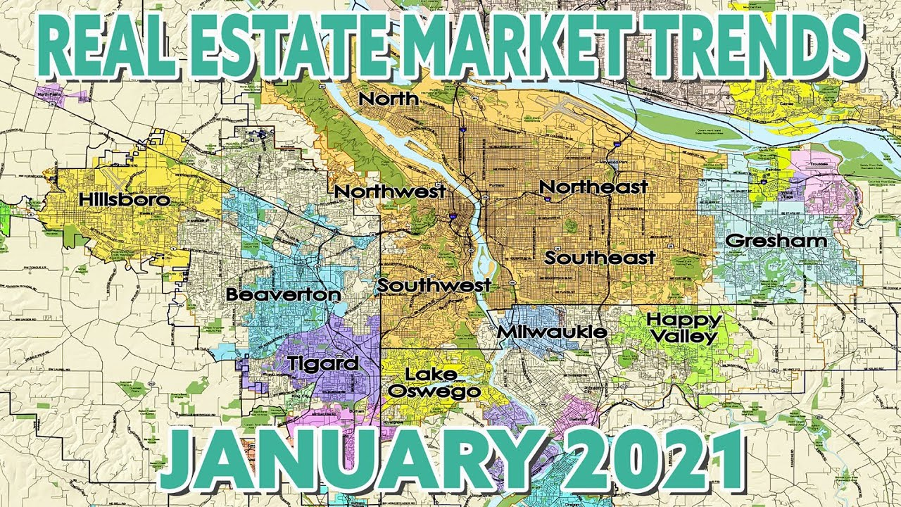 January 2021 Real Estate Market Trends Video for Portland, OR & more!