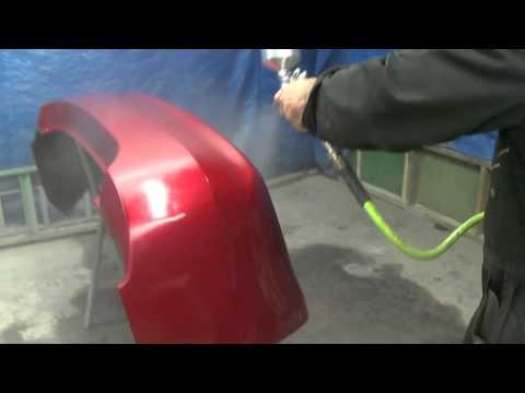 Покраска бампера автомобиля своими руками видео смотреть