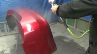 Покраска авто бампера новичком(видео сделано для того чтобы показать что не надо боятся начинать и можно покрасить с первого раза и доволь..., 2014-06-03T05:45:20.000Z)