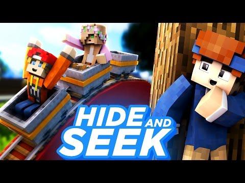 VERSTECKT IM FREIZEITPARK!! | Minecraft Hide and Seek