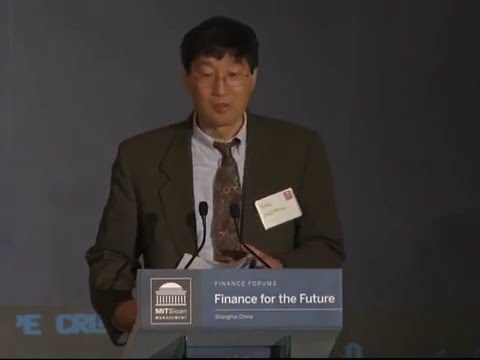 Finance for the Future Shanghai 2013: Opening Remarks