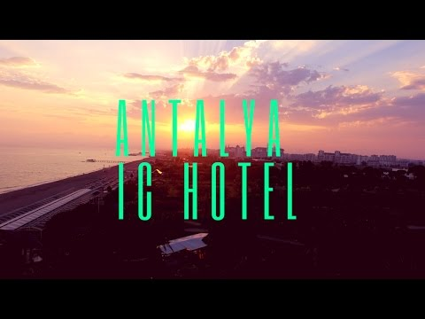 Travel with Drone - IC Hotels Antalya Turkey 4K Drone Video #10