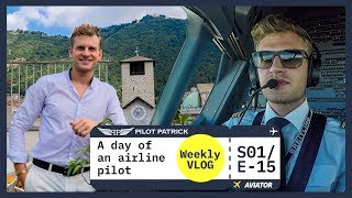 FLIGHT TO MILANO - MY DAY AS AN AIRLINE PILOT | VLOG #15