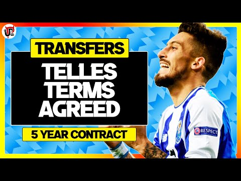 Alex Telles Agrees Man Utd Deal! | Transfer News