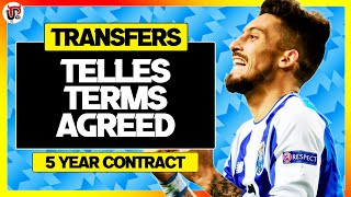 Alex Telles Agrees Man Utd Deal! | Transfer News