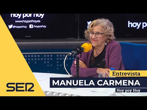 """Manuela Carmena: """"El juicio del procés será con todas las garantías y justo"""""""