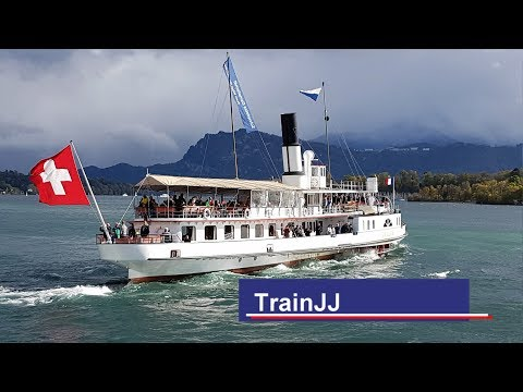 Tanz der Dampfschiffe Vierwaldstättersee Luzern | Paddle Steamers Lake Lucerne Switzerland Suisse