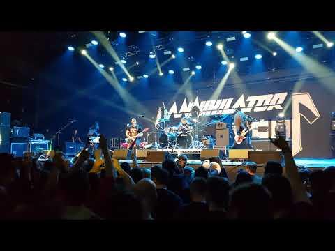 Annihilator - One To Kill - Live A2, Saint-petersburg 23.03.2018