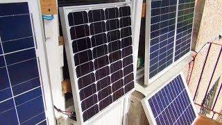 Квартирная солнечная электростанция