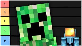 Minecraft Mobs Tier List