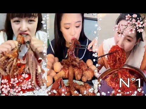COMPILATION ASMR EATING #1| Mukbang Compilation| Подборка АСМР Еда^_^