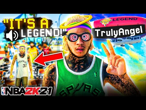 LIFE ON NBA 2K21 IS SO MUCH BETTER AS LEGEND.