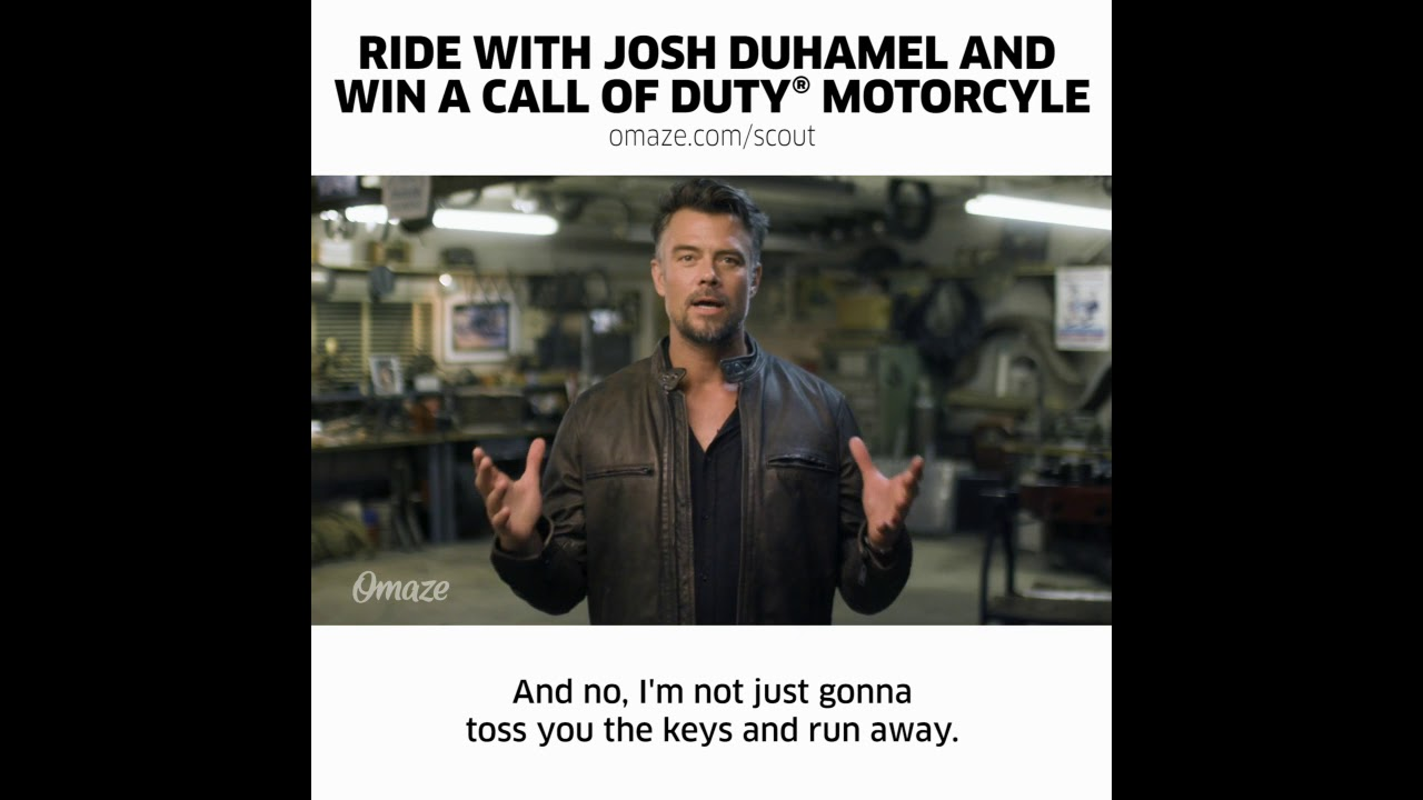 Download The Call of Duty™ Endowment Launches One-of-a-Kind Omaze Experience with Actor Josh Duhamel ...