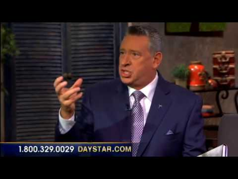 "Daystar TV: Rod Parsley on his book ""The Cross"""