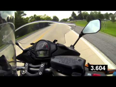 Kawasaki Ninja 650 2014 0-60 Acceleration