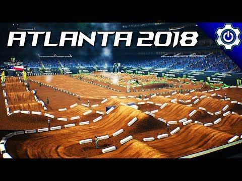 Monster Energy Supercross - 2018 Atlanta Supercross Gameplay