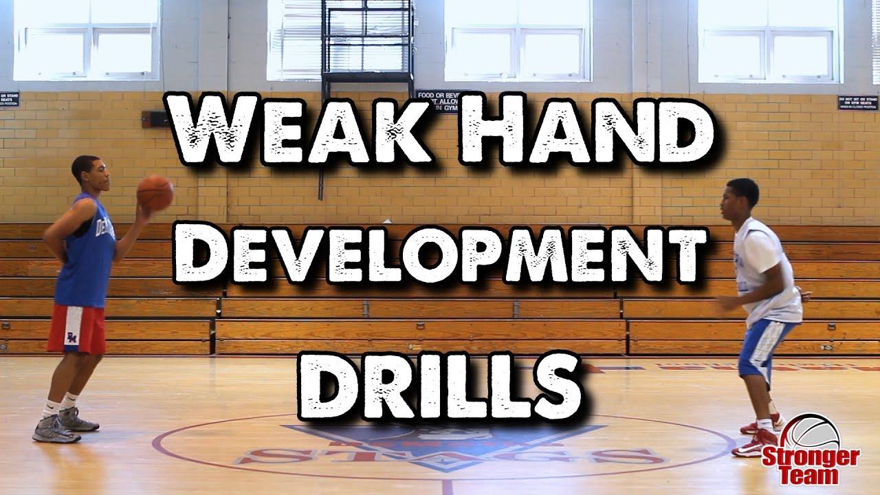 Weak Hand Development Drills for Basketball