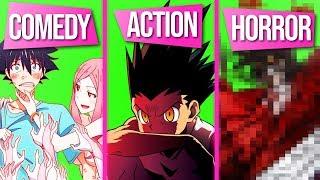 Der Beste Anime aus jedem Genre (Sport, Romance, Horror, ...) | Kurono